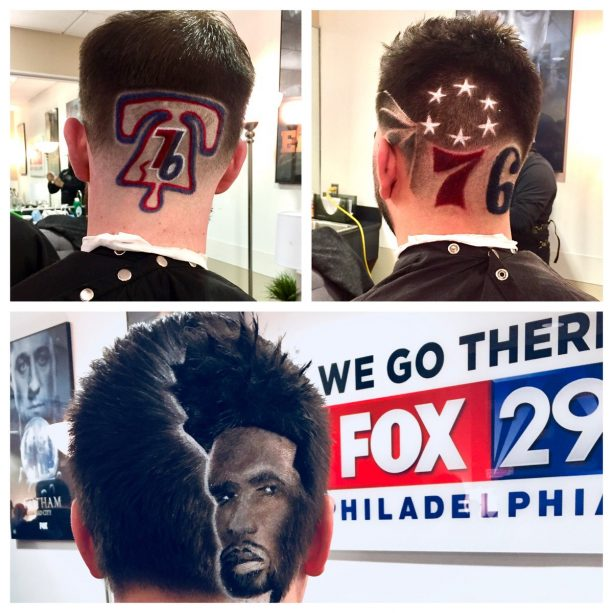 "Philadelphia 76ers ""Barber Appreciation Night""  Is Pretty Awesome"
