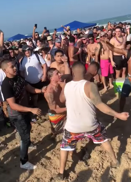 Who doesn't like Watching Spring Break Fights?