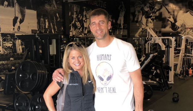 Aaron Rodgers Spotted Working Out with Another Girl