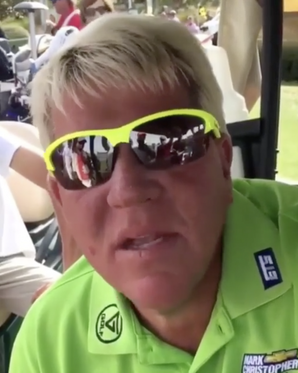Video- John Daly Just Being John Daly Is Awesome