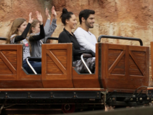 Jimmy Garoppolo And Girlfriend Spotted At Disneyland