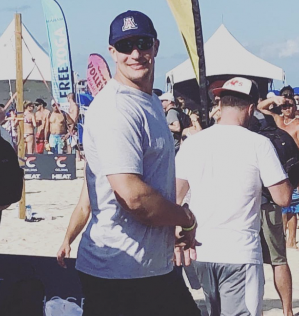 Rob Gronkowski Spotted With Mystery Blonde In Miami
