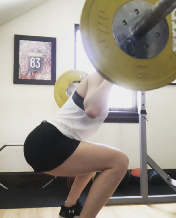 Video- Lindsey Vonn Looking Sexy In The Gym