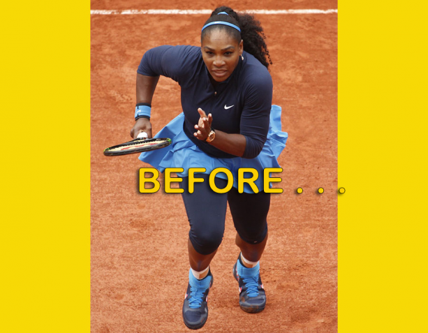 Serena Williams Shows Off Her Brand New Face
