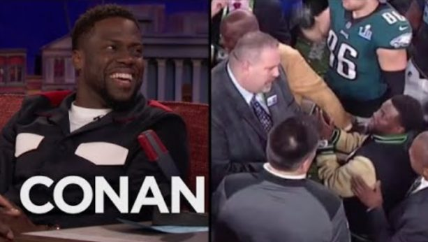 Kevin Hart On His Drunken Mission To Hold The Super Bowl Trophy