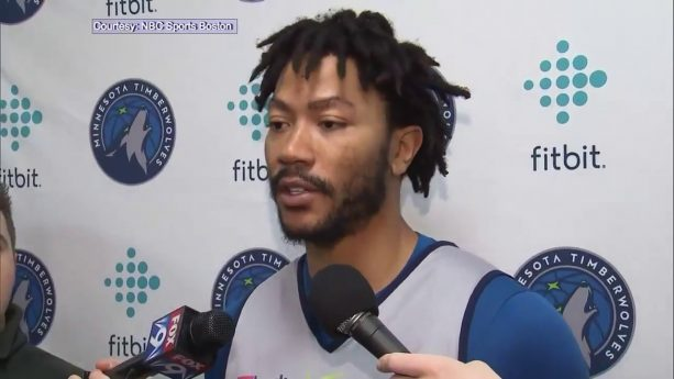 Derrick Rose reacts to trade to Timberwolves: 'I can play with anybody'