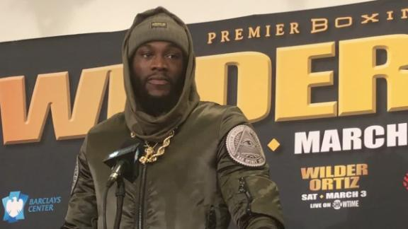 Deontay Wilder Reacts to Beating Luis Ortiz by KO