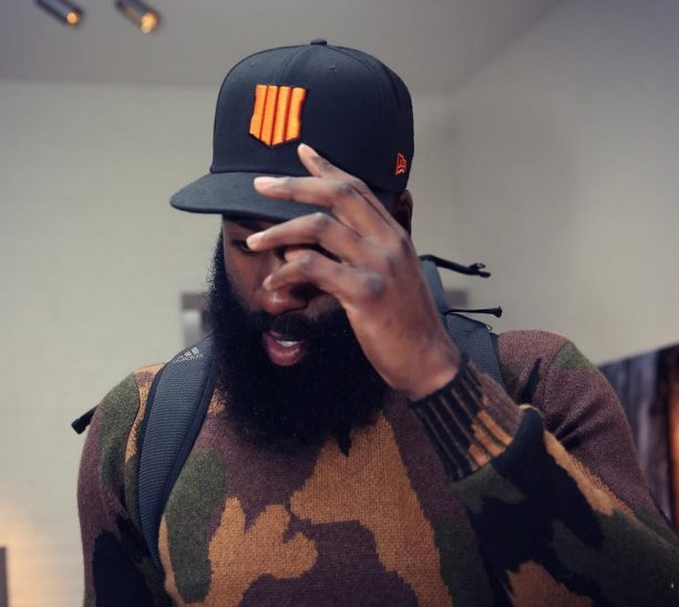 James Harden+Call of Duty: Black Ops 4 Reveal