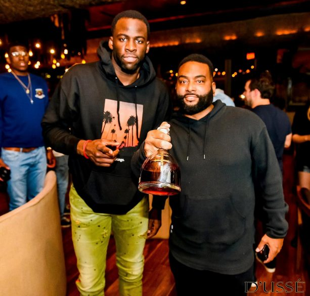 Draymond Green Celebrates 28th Birthday with D'USSE Dinner Party Alongside Warriors Teammates