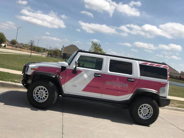 Every Cowboys Fan Needs A Pink Hummer