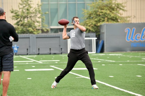 Tom Brady At UCLA Putting In That Work