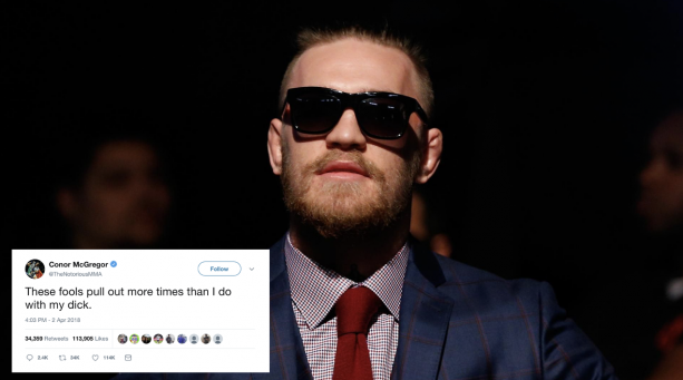 Conor McGregor Goes Hard On Twitter After Turning Down Khabib Fight