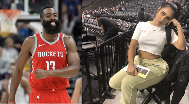 James Harden Has A New Thick One In His Roster And We Have Pictures