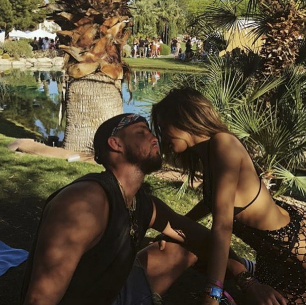 Chandler Parson's and Girlfriend Do Coachella