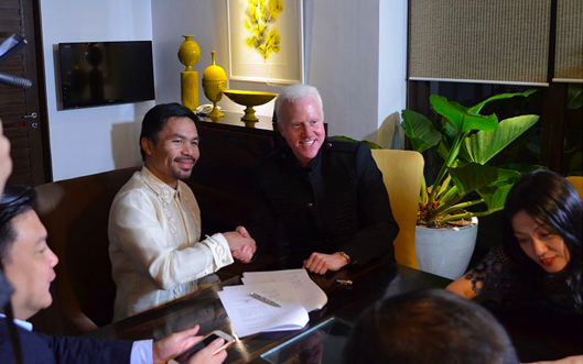 Manny Pacquiao Launches Crypto Currency