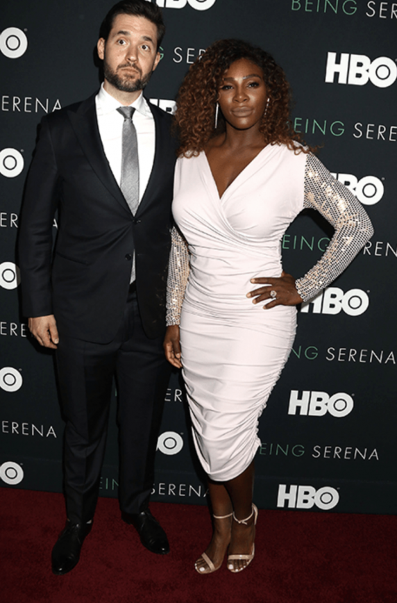 Pictures Of Serena Williams Baby With The Nanny