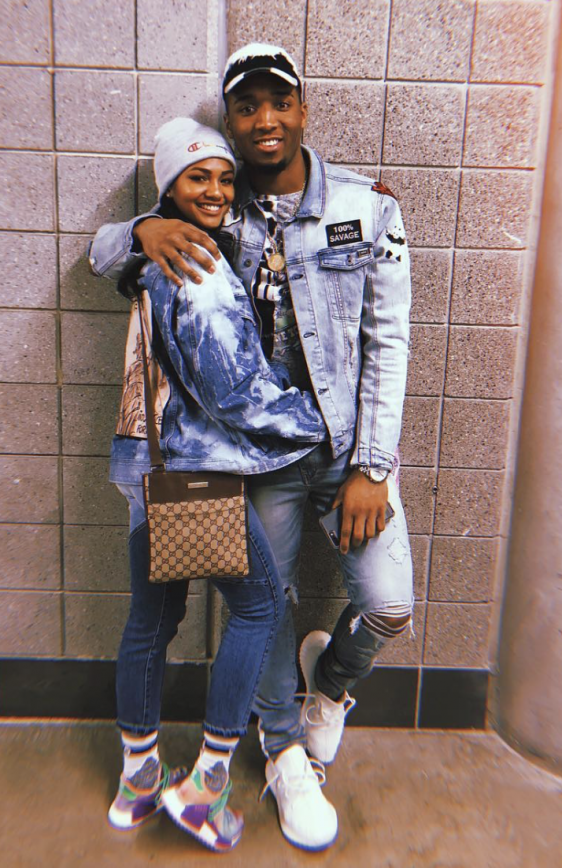 Checkout Donovan Mitchell's Girlfriend Deja Lighty
