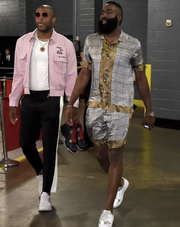 James Harden Wore A Romper To Game 1 Against Utah?