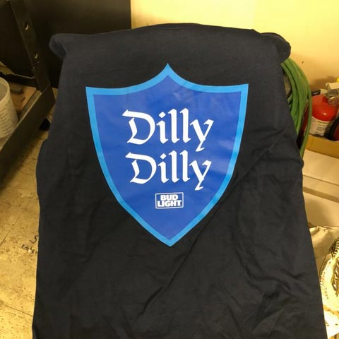 "Masters Bans ""Dilly Dilly"""