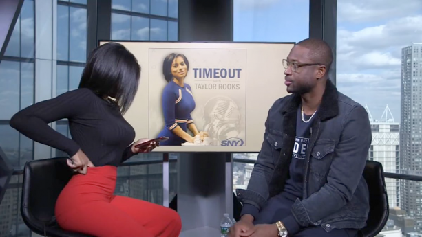 Dwyane Wade Getting Super Flirty On Video During Interview