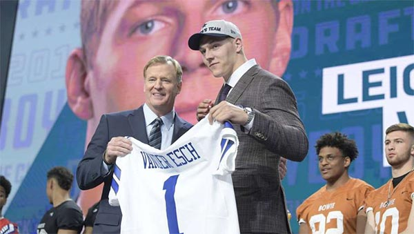 Cowboys Fan Vowed To Cut Off His Penis If Team Drafted Leighton Vander Esch (TWEETS)