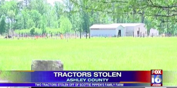 Police Looking For Thieves Who Stole Two Tractors From Scottie Pippen's Farm