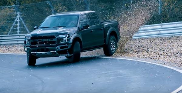 Vaughn Gittin Jr. Takes A Ford Raptor For Some Sideways Fun