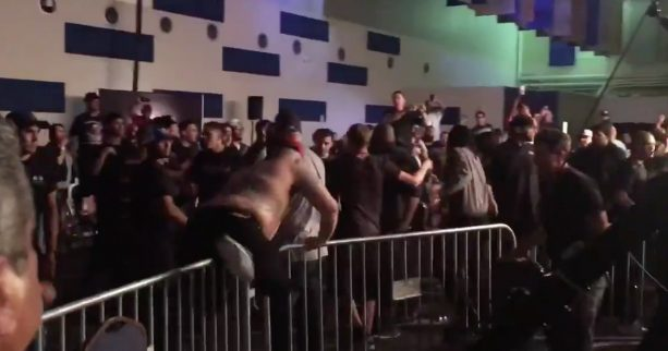 Nate Diaz & Crew Scuffle With UFC Fighters At MMA Show