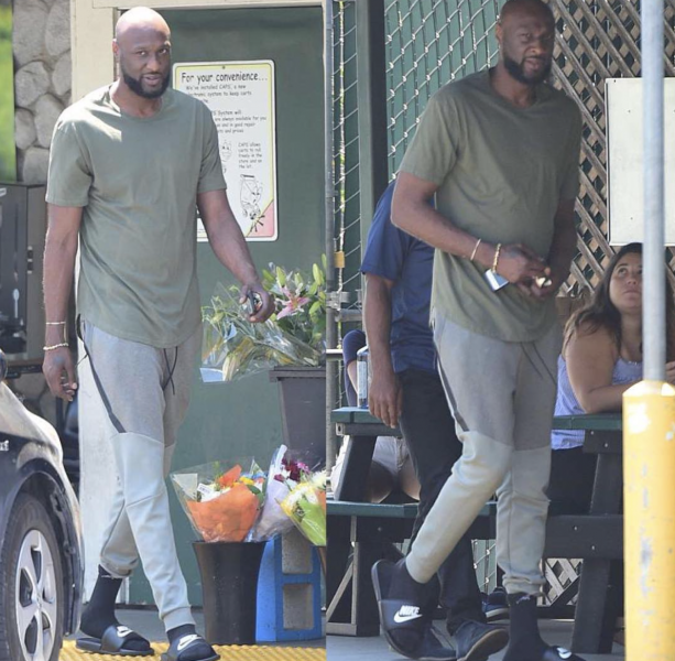 Lamar Odom Staying Healthy And Clean In Los Angeles