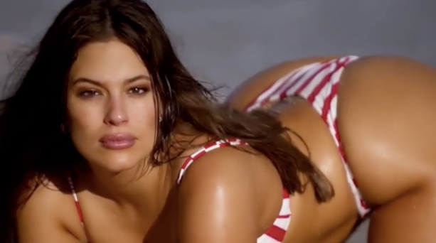 Big Girl Ashley Graham Takes It Off For Sports Illustrated