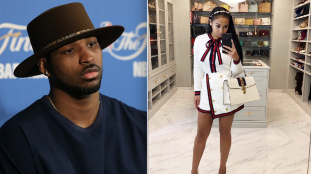 Tristan Thompson's Baby Momma Throwing Shade On Instagram.