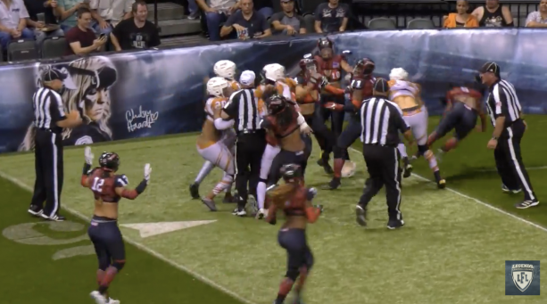 LFL WOW! A Brawl Breaks Out