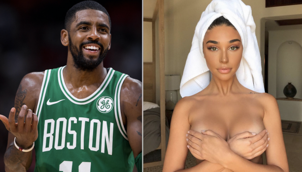Kyrie Irving Spotted In Miami Dancing With Chantel Jefferies