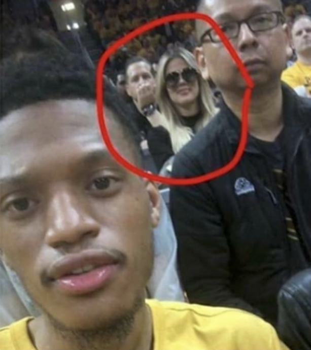 LMAO Khloe Kardashian Calls Out Fan For Taking A Picture Of Her At Cavs Celtics Game 3