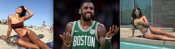 Kyrie Irving Juggling Ladies Off The Court