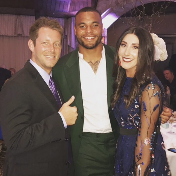 Cowboys Quarterback Dak Prescott Rolled Solo To Wedding