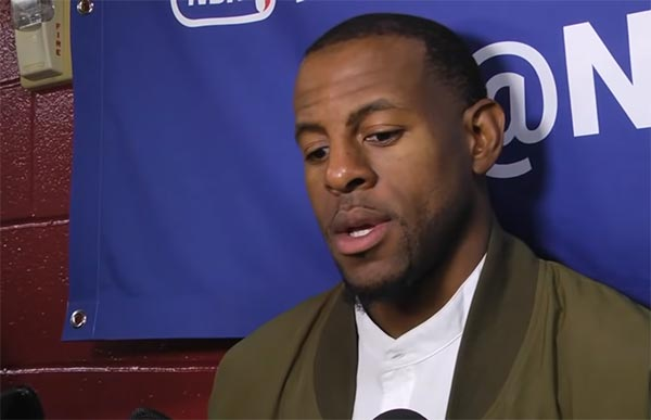 Andre Iguodala Thinks Kevin Durant Is Jordan And He Is Pippen