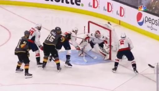 NHL Officials Blasted For Missed Call That Led To Pivotal Golden Knights Goal