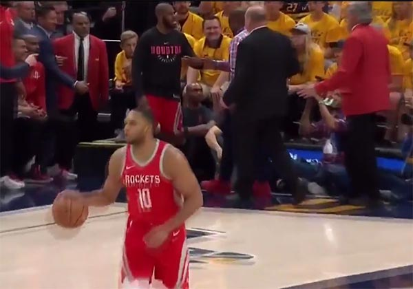 Chris Paul's Brother Was Ejected From Game 4 (VIDEO)