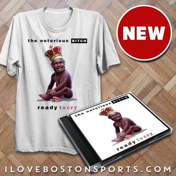 LeBron James T-Shirt Crying Is Awesome