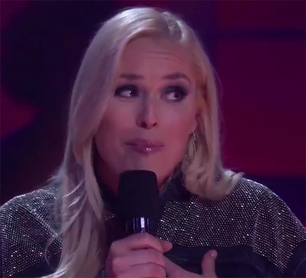 Fellow Olympian Takes Lindsey Vonn's Love Life To Task On 'Drop The Mic' (VIDEO)