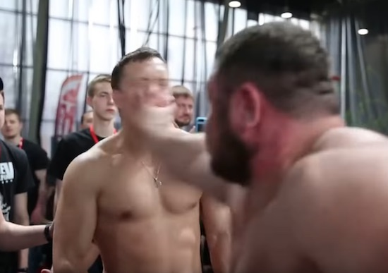 Russian Slapping Champioship Is A Must Watch