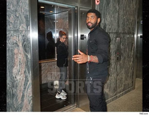 We Told You Back In May Kyrie Was Back With Chantel Jeffries