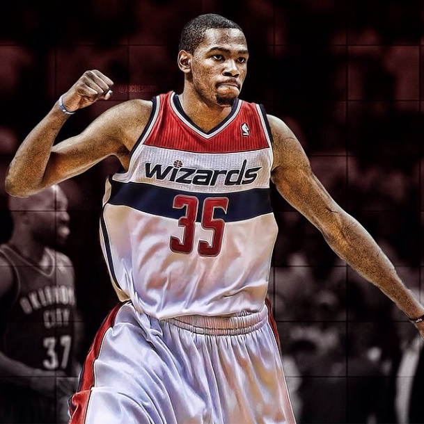Kevin Durant's Fake Twitter Says He's Going To The Wizards