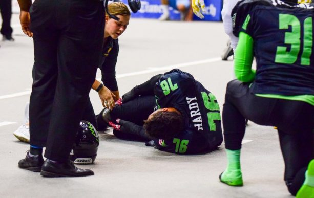 Greg Hardy Injured In Arena Football Game