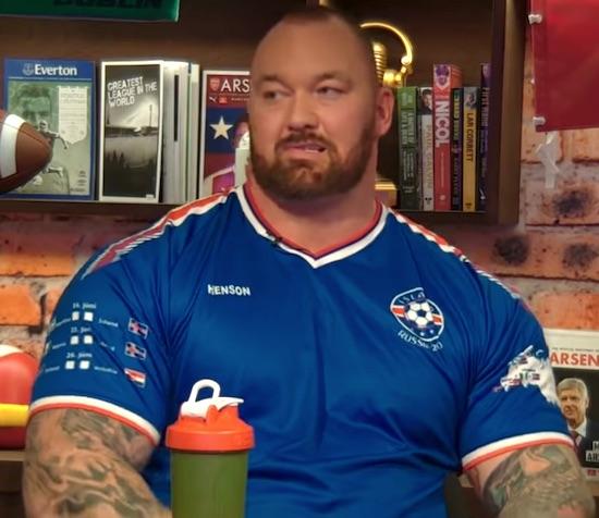 The Mountain: I'd smash Conor McGregor in a UFC Octagon
