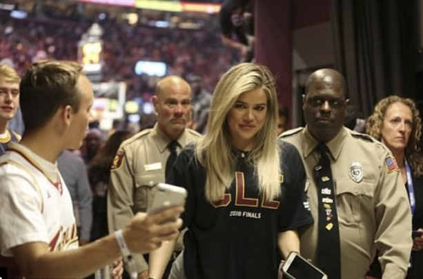 Khloe Kardashian Was At Game 3 To Watch Her Tristan Thompson Get Smashed On