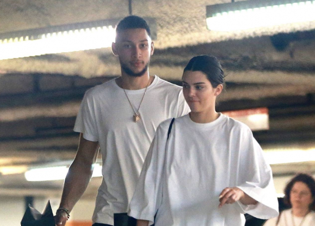 Kendall Jenner and Ben Simmons Hanging In Los Angeles