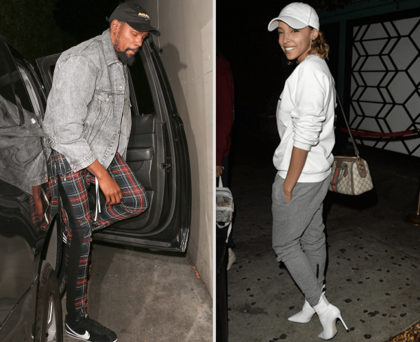 Kevin Durant Playing Flirtsy  With Ben Simmons Ex Tinashe