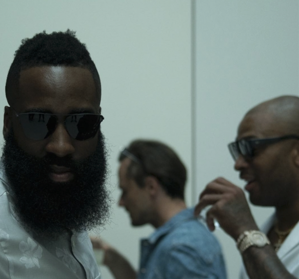 James Harden Attends GQ Party in Milan #Fashionista
